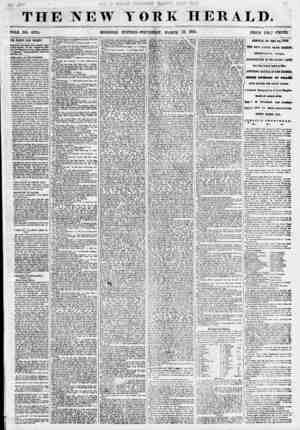 THE NEW YORK HERALD. IOLE NO. 6775. MORNING EDITION-THURSDAY, M&ROR 15, 1855. THE STANWIX HALL TRAGEDY. >1111 In (he...