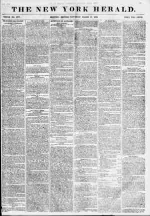 THE NEW YORK HERALD. WHOLE NO. 6777. MORNING EDITION- -SATURDAY, MARCH 17, 1855. PRICE TWO CENTS. THE STANWIX HALL TRAGEDY.