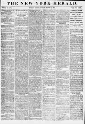 THE NEW YORK HERALD. WHOLE NO. 6779. MORNING EDITION-MONDAY, MARCH 19, 1855. PRICE TWO CENTS. AMHRTISKIEim BENKWED EVERY DAT.