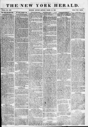 THE NEW WHOLE NO. 6T86. MORNING YORK HERALD. EDITION-MONDAY, MARCH 26, 1855. PRICE TWO CENTS. i SANTA ANNA'S SWISS BODY...