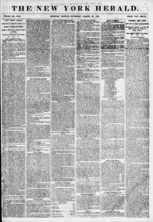 THE NEW Y WHOLE NO. 6789. ORK HERALD. 0 THURSDAY, MARCH 29, 1855. PRICE TWO CENTS. NATIVE AMERICAN FEtfiVlLS. ANNIVERSARY OF
