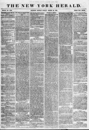 THE NEW WHOLE NO. 6790. MORNING YORK HERALD. EDITION? FRIDAY, MARCH 30, 1855. PRICK TWO CENTS. lOTlKTBEMENTS RENEWED KFE1Y