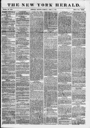 THE NEW YORK HERALD. WHOLE NO. 6794. MORNIMG. EDITION-TUESDAY, APRIL 3, 1855. PRICE TWO CENTS. mmmmm renewed etery m. DRY...