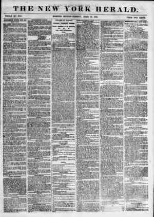 THE NEW WHOLE NO. 6801. YORK HERALD. PRICE TWO CENTS. ADVERTISEMENTS RENEWED ETERT DAT. INSTRUCTION. 1 1 ? Sl'ECIA It or FER?