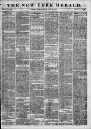 THE NEW WHOLE NO. 681L MORNING YORK HERALD. EDITION-FRIDAY, APRIL 20, 1855. PRICE TWO CENTS. mmXOZPAl ATTM1MM. Board of A...
