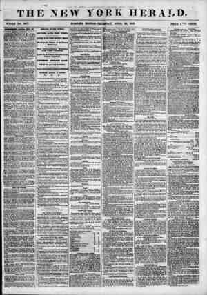 THE NEW YORK HERALD. WHOLE NO. 6817. MORNWG EDITION? THURSD A Y, APRIL 26, 1855. PRICE 1,^0 CENTS. unuwmm jusms?n> buski bk\.