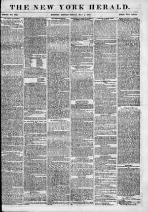 THE NEW YORK HERALD. WHOLE NO. 6825. . MORNING EDITION? FRIDAY, MAY 4, 1855. PRICE TWO CENTS. THE KNOW NOTHINGS. lew Jen u*y