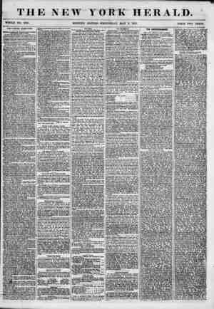 THE NEW YORK HERALD. WHOLE NO. 6830. PRICE TWO CENTS. THE LIQUOR QUESTION. Optalon of Jamei W. Uerard on the Prohibi tory...