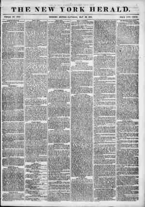 THE NEW WHOLE NO. 6847. MORNING YORK HERALD. EDITION-SATURDAY, MAT 29, 1855. PRICE T?TO CENTS li L ' -- ? -? g Important to