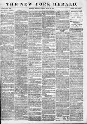 T HE NEW WHOLE NO. 6849. MORNING YORK HERALD. EDITION-MONDAY, MAY 28, 1853. PRICE TWO CENTS Tins vmaiNid zsuacrzorr. WISE'S