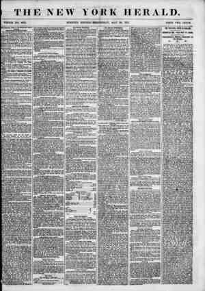 I THE NEW YORK WHOLE NO. 685L MORNING EDITION-WEDNESDAY, MAY HERALD. 30, 1855. Bccleslaatlral Trial In the Reformed Dutch...