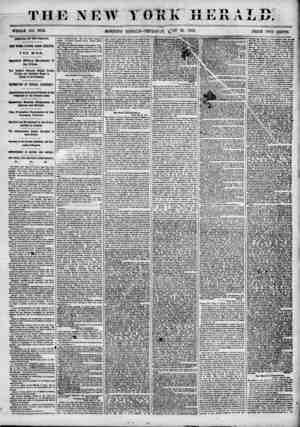 """THE NEW MORNING -%t* Tl """"5"""" T T""""1 ? TB A T T\ I Uttll XI Hi IX ??1j JLT. EDITiON? THURSDAY, 81' 1855- PRICE TTTO CENTS..."""