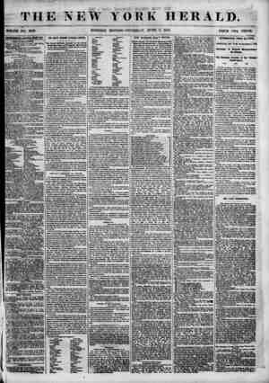 i THE NEW YORK HERALD. WHOLE NO. 6859. MORNING EDITION? THURSDAY, JUNE 7, 1855. PRICB TW0 CENTS tgranuifiATa m. MW...