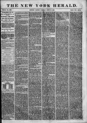 THE NEW YORK HERALD. WHOLE NO. 6871. MORNING EDITION?TUESDAY, JUNE 19. 1855. PRICE TWO CENTS THE KNOW NOTHINGS IN THE PARK.