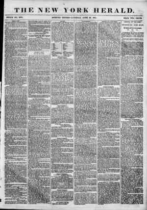 THE NEW YORK HERALD. WHOLE NO. 6875. MORNING EDITION-SATURDAY, JUNE 23. 1855. PRICE TWO CENTS. Mayor * Oilier. THE OFFICIAL