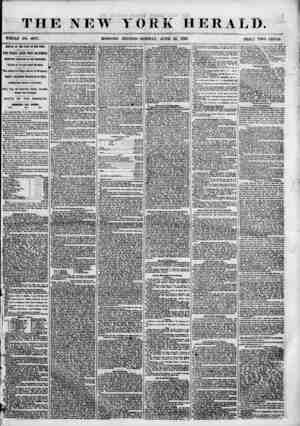 THE NEW YORK HERALD. WHOLE NO. 6877. MORNING EDITION?MONDAY, JUNE 25. 1855. PRIG*? TWO CENTS. ABBIYAL OF THE STAR OF THE...