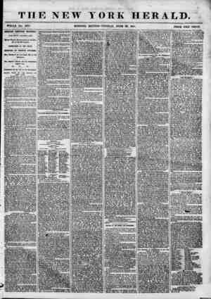 THE NEW YORK HERALD. ?HOLE NO. o878. MORNING EDITION-TUESDAY, JUNE 26, 1855. PRICE TW?0 CENTS. iMPORTANT TEMPERANCE...