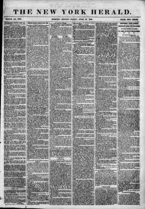 THE NEW YORK HERALD. , * TOOLE NO. 688L MORNING EDITION?FRIDAY, JUNE 29. 1855. PRICE TWO CENTS 1DYEDHSKMENTS RENEWED ETERI