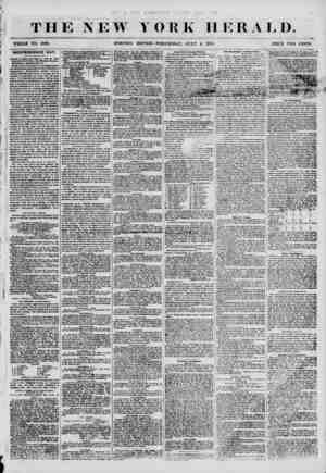 THE NEW YORK HERALD. WHOLE NO. 6886. MORNING EDITION-WEDNESDAY, JULY 4 1855. PRICE TWO CENTS. INDEPENDENCE DAY. i^wth of...