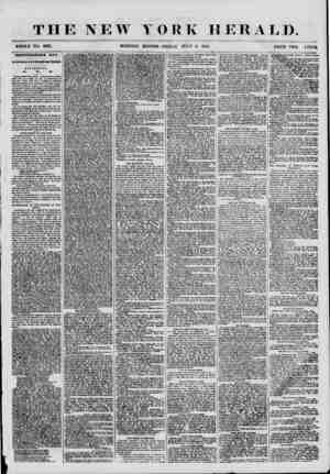 THE NEW YORK HERALD. WHOLE NO. 6887. MORNING EDITION ?FRIDAY, JULY 6 1855. PRICE TWO IENTS. INDEPENDENCE DAY. Its Celebration