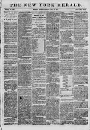 THE NEW YORK HERALD. WHOLE NO. 6890. MORNING EDITION-MONDAY, JULY 9, 1855. PRICE TWO CENTS. mmmi fmim gbntril ahkkka. The...