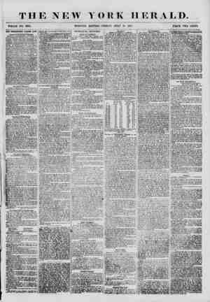 THE NEW YORK HERALD. WHOLE NO. 6894. MORNING EDITION? FRIDAY; JULY 13. 1855. PRICE TWO CENTS. THE PROHIBITORY LIQUOR LAW....
