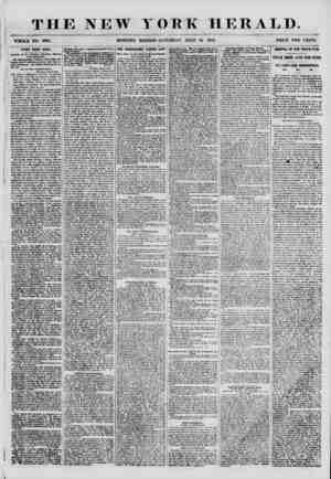 THE NEW YORK HERALD. WHOLE NO. 6895. MORNING EDITION-SATURDAY, JULY 14. 1855. PRICE TWO CENTS. HEWS FBOK CUBA. -Arrival of