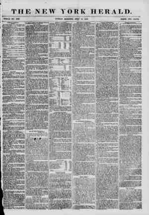 THE NEW YORK HERALD. I WHOLE NO. 6896 . SUNDAY MORNING, JULY 15. 1855. PRICE TWO CENTS. Religious lnuiligvnM. ? SBBB0N*. Got.