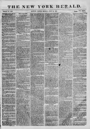 THE NEW WHOLE NO. 6897. M'O.RNING YORK HERALD. EDITION? MONDAY, jTLF 16 1855. PRICE CENTS. ADVERTISEMENTS RENEWED EVERT DAT.