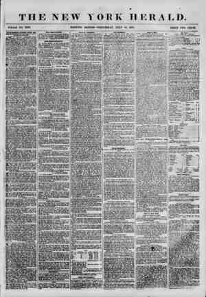 THE NEW Y WHOLE NO. 6899. ORK HERALD. -WEDNESDAY, JTJLY 18, 1855. PRICE TWO CENTS. ADVERTISEMENTS RENEWED EVERY DAT. at Ue