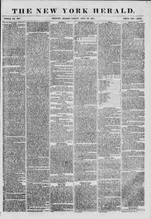 THE NEW YORK HERALD. WHOLE NO. 6901. MORNING EDITION-FRIDAY, JULY 20. 1855. PRICE TWO JENTS. Visit of the Albany Vommu*ou...