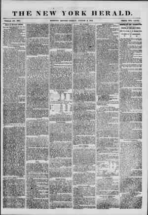 THE NEW WHOLE NO. 6915 MORNING YORK HERALD. EDITION-FRIDAY, AUGUST 3, 1355. PRICE TWO CENTS. ARRIVAL OF THE BLACK WARRIOR.
