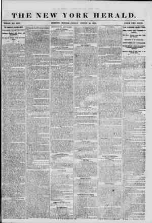 THE NEW YORK HERALD. WHOLE NO. 6H22. MORNING EDITION-FRIDAY, AUGUST 10, 1856. PRICE TWO CENTS. THE LOUISVILLE ELECTION RIOTS.