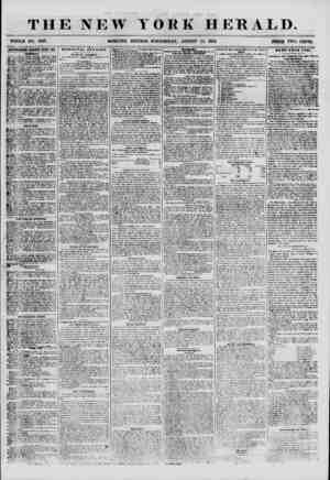 THE NEW YORK HERALD. WHOLE NO. 6927. MORNING EDITION? WEDNESDAY, AUGUST 15, 1855. PRICE TWO CENTS. ADVERTISEMENTS BERK WED