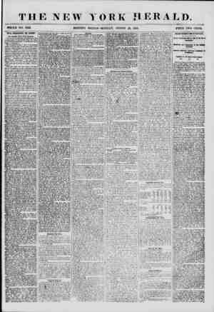 THE NEW MORNING YORK HERALD. EDITION-MONDAY, AUGUST ?0, 1855. PRICE TWO CENTS. WILL SEBASTOPOL BE TAKES? The Russian View of