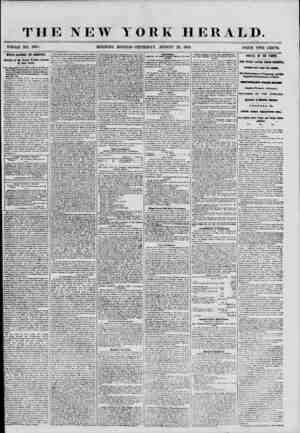THE NEW WHOLE NO. 6935. MORNING YORK HERALD. * EDITION-THURSDAY, AUGUST 23, 1855. PRICE T WO CENTS. M'LLE RACHEL IN AMERICA.