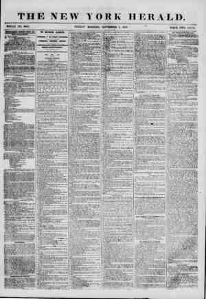 THE NEW YORK HERALD. ? WHOLE NO. 6945. SUNDAY MORNING, SEPTEMBER 2, 1855. PRICE TWO CENTS ISTKKTHBKKMTS BEHKWKD ETKRY EAT,