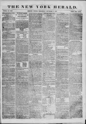 THE NEW YORK HERALD. MORNING EDITION-WEDNESDAY, SEPTEMBER 5, 1855. (ADVERTISEMENTS RENEWED EVERY DAY. NEW WBUCATIOSi S. A...