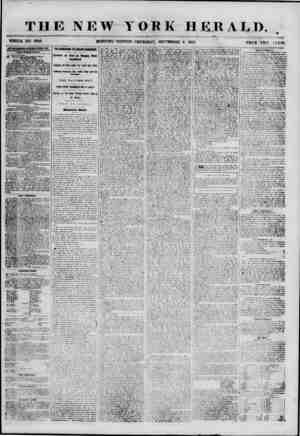 THE NEW YORK HERALD. . WHOLE NO. 6949. MORNING ' EDITION? THURSDAY, SEPTEMBER 6. 1855. PRICE 1H O < J NTS. (4BTE8TI8EMEMT8 8