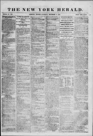 THE NEW YORK HERALD. WHOLE NO. 6951. ADTHBTISEMEMT8 RENEWED ETEBY PAY, NEW PIBUCAITOSS. A VOICE TO AMERICA Will lip published