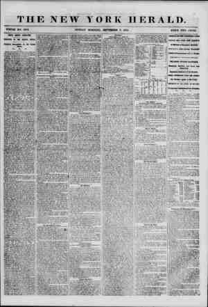 THE NEW YORK HERALD. WHOLE NO. H9S2. SANTA ANNA'S ABDICATION. MANIFESTO TO THE MEXICAN PEOPLE. Proposed Annexation to the...