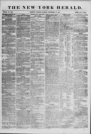 THE NEW WHOLE NO. 6954. MORNING YORK HERALD. EDITION-TUESDAY, SEPTEMBER 11, 1855. PRICE TWO CENTS. ADVERTISEMENTS KKNfiWED
