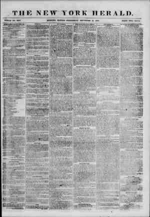 THE NEW YORK HERALD. WHOLE NO. 6955. MORNING EDITION? WEDNESDAY, SEPTEMBER 12, 1855. PRICK TWO CENTS. ADVERTISEMENTS RENiiWED