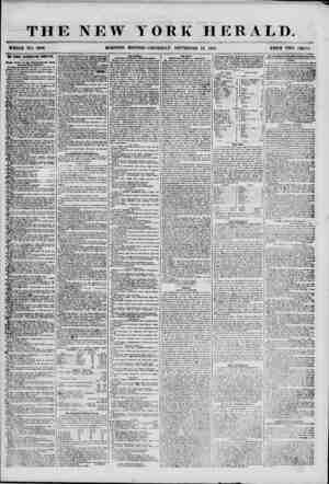 THE NEW YORK HERALD. WHOLE NO. 6956. MORNING EDITION? -THURSDAY, SEPTEMBER 13, 1855. PRICE TWO CENTS. THE BRIQQB...