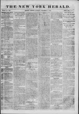 THE NEW T ? ?it WHOLE MO. 6958. MORNING EDITION ORK HERALD. <r SATURDAY, SEPTEMRKR 15, 1855. PRICE TWO CENTS WKITISEIEim...