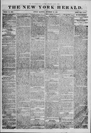 W YORK HERALD. f WHOLE NO. 6966. SUNDAY MINING, SEPTEMBER 23, 1855. PRICK TWO CENTS. 4ETEIT18EMEMS RENEWED EFEBY BAY....