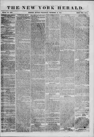 THE NEW YORK HERALD. WHOLE NO. 6968. MORNING EZMTION? WEDNESDAY, SEPTEMBER 26, 1855. PRICE TWO CENTS. f AETBKTOEMBWTS...