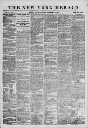 THE NEW YORK HERALD. ; WHOLE NO. 6969. MORNING EDITION? THURSDAY, SEPTEMBER 27, 1855. PRICE TWO CENTS. i AEYEETISESENTS...