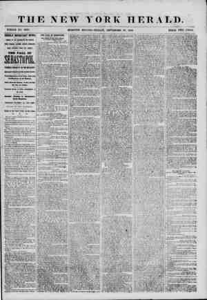 THE NEW YORK HERALD. WHOLE NO. 6970. HIGHLY IMPORTANT NEWS. ARRIVAL OF THE WASHINGTON AND AMERICA. ONE WEEK LATER FROM...