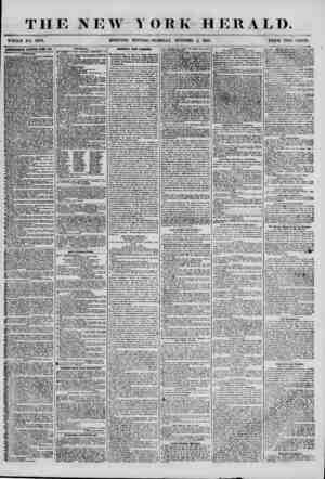 THE NEW MORNING YORK HERALD. - EDITION? TUESDAY, OCTOBER 2, 1855. PRICE TWO CENTS. AITSKTUEffENTS BBUEWKD KfBIT DAK....